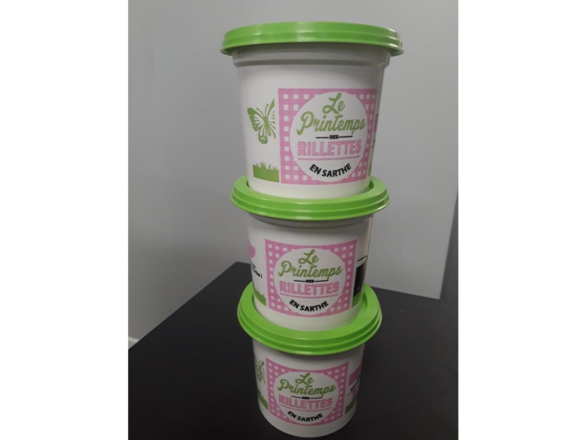 Printemps des Rillettes Pot de rillettes 230g Maison