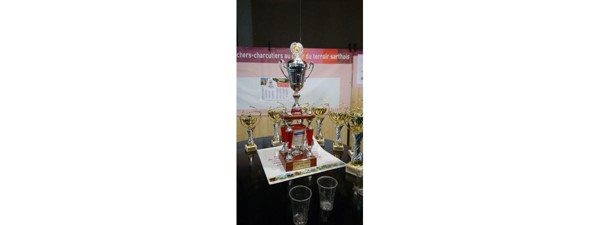 Trophée du titre de champion des champions au concours des meilleures Rillettes 2019