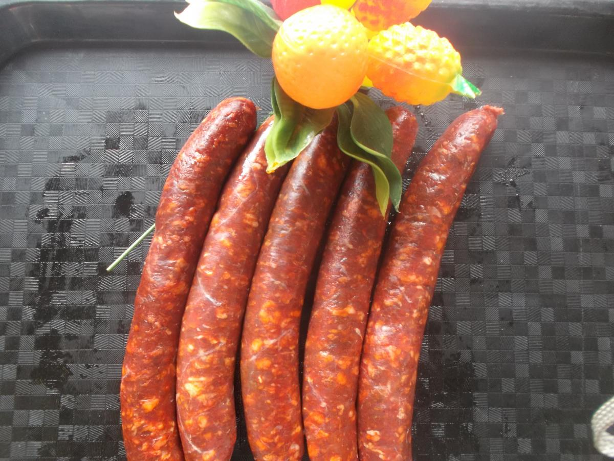 Lot de 10 merguez