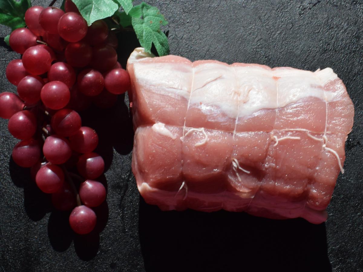 Rôti de porc fermier label rouge Cénomans